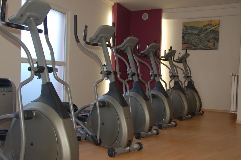 Transformation d un garage en salle de fitness okdo