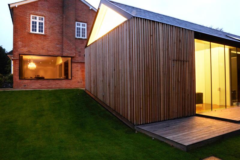 Cout annexe maison une extension de maison en bois peut for Cout charpente maison